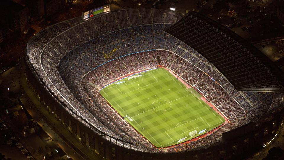 Nou Camp is the home of Catalan football club Barcelona.