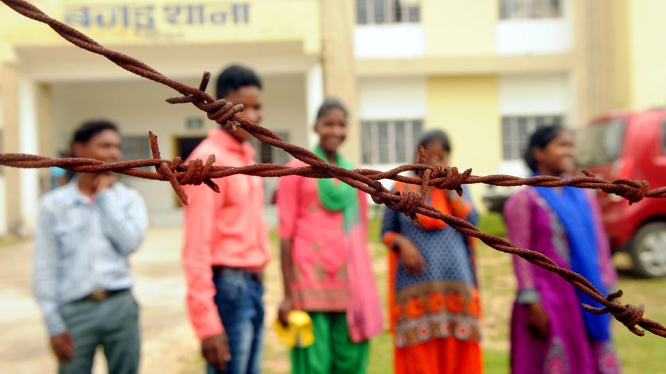 Former Child soldiers of CPI Maoist rescued and rehabilitated by police, they shared their past experience with HT at Bagru Police Station in Lohardaga District of Jharkhand, India, on Wednesday, October 11, 2017.