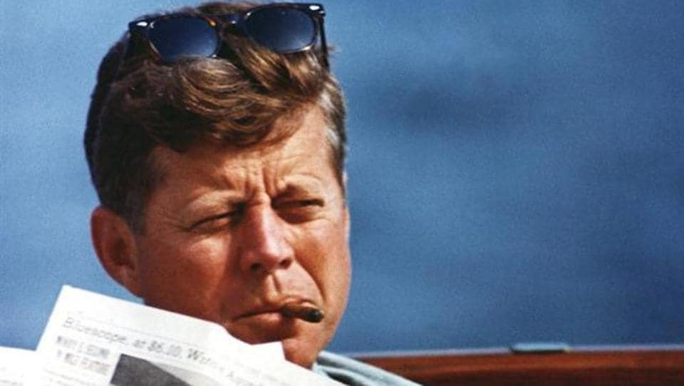 President John F. Kennedy in an undated photograph. In what was supposed to be the grand unveiling of government secrets about the 1963 killing of President John F. Kennedy, President Trump didn't quite deliver the details. (JFK Presidential Library and Museum / Handout / File Photo via REUTERS)