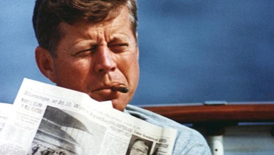 President John F. Kennedy in an undated photograph courtesy of the John F. Kennedy Presidential Library and Museum.