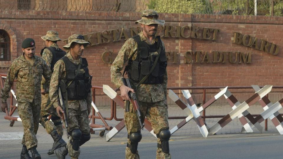 Tens of thousands of security will be deployed in Lahore on Sunday to prevent any untoward incident. (AFP)
