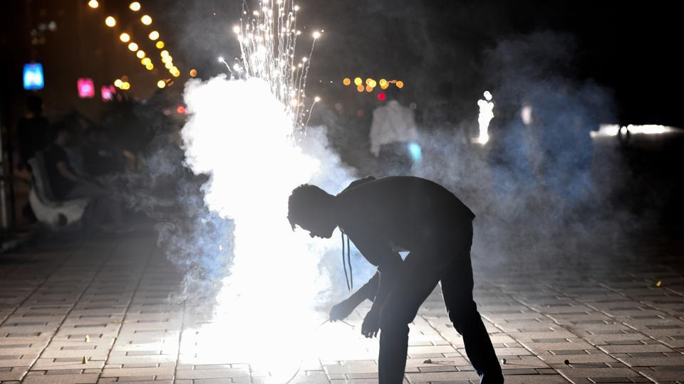 The children, in their plea, also highlighted how Delhiites made a mockery of the Apex court's order this year as firecrackers were sold by traders from their houses.