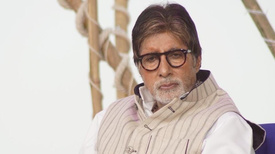 Amitabh Bachchan during the NDTV Banega Swachh India programme in Mumbai.