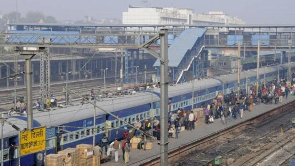 A general view of New Delhi Railway Station.