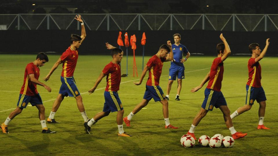 FIFA U-17 World Cup,FIFA U-17 World Cup 2017,England vs Spain