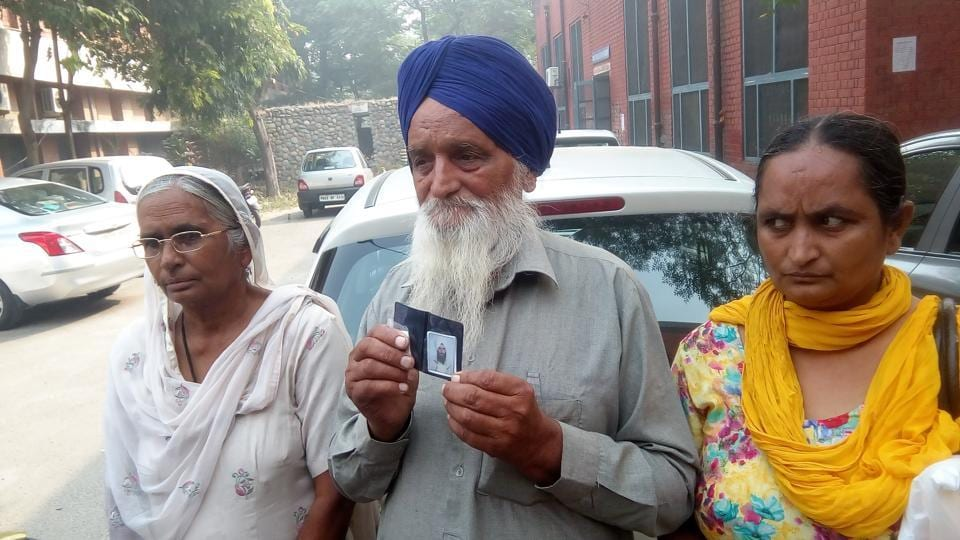 Families started arriving at the Government Medical College in Amritsar on Saturday morning for their DNA test.