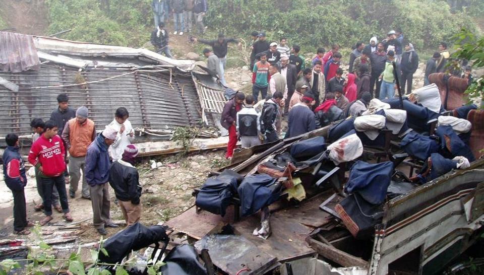 Nepal,Bus ccident,Kathmandu