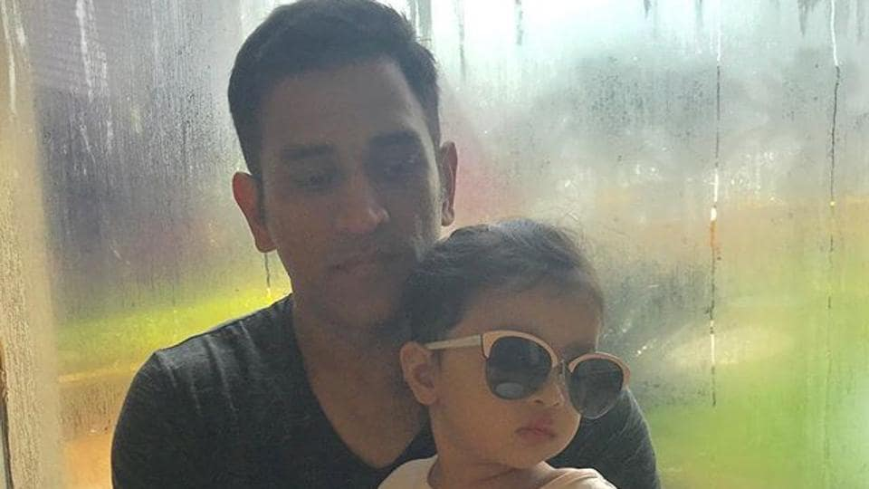 MSDhoni's daughter Ziva Singh Dhoni continues to win hearts on social media.