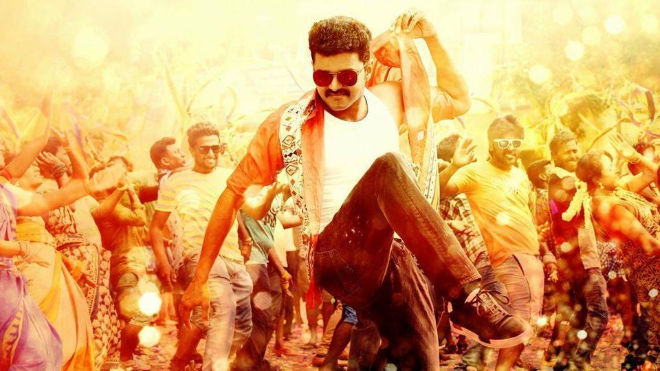 Vijay's Mersal contains all the formulaic elements of a mass movie