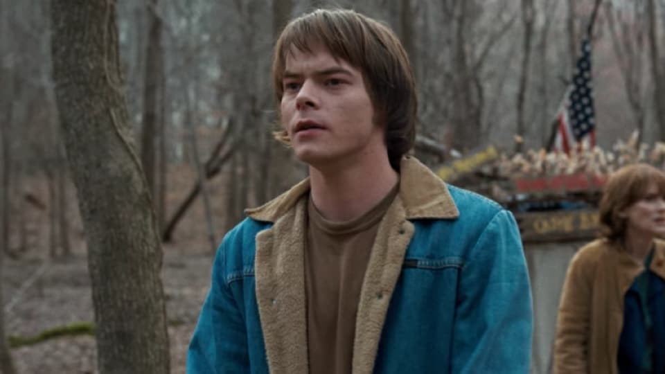 Charlie Heaton as Jonathan Byers in Stranger Things.