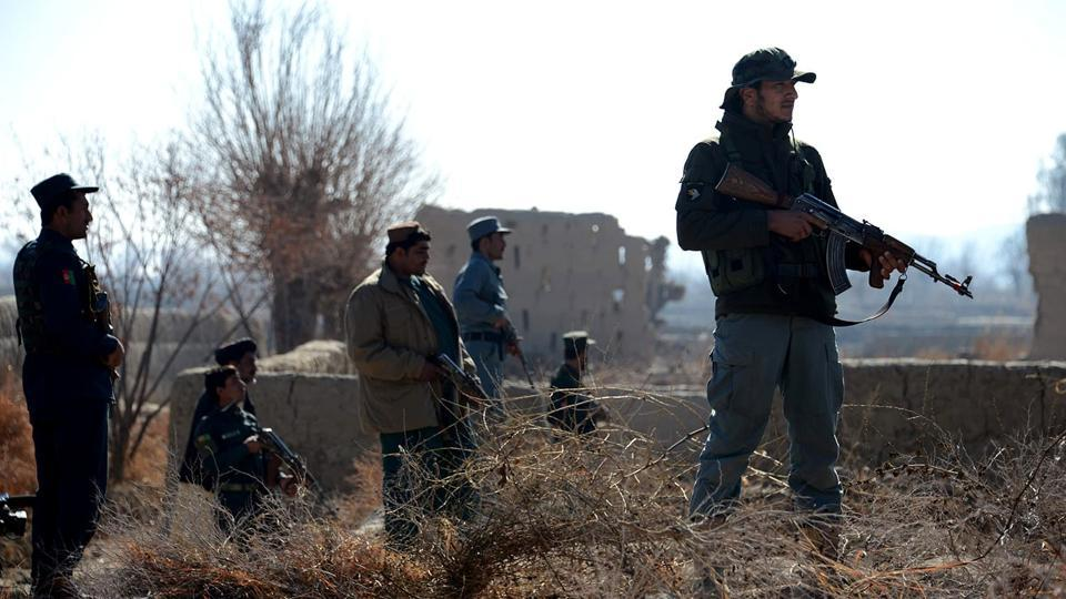 Arif Noori, spokesman for the provincial governor, says two police checkpoints came under attack by Taliban fighters in the early hours Saturday.