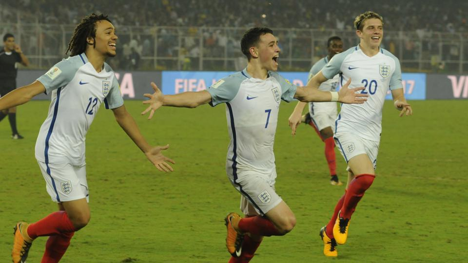 Phil Foden (no. 7) then gave his side the lead midway into the second half. (Samir Jana/HT PHOTO)