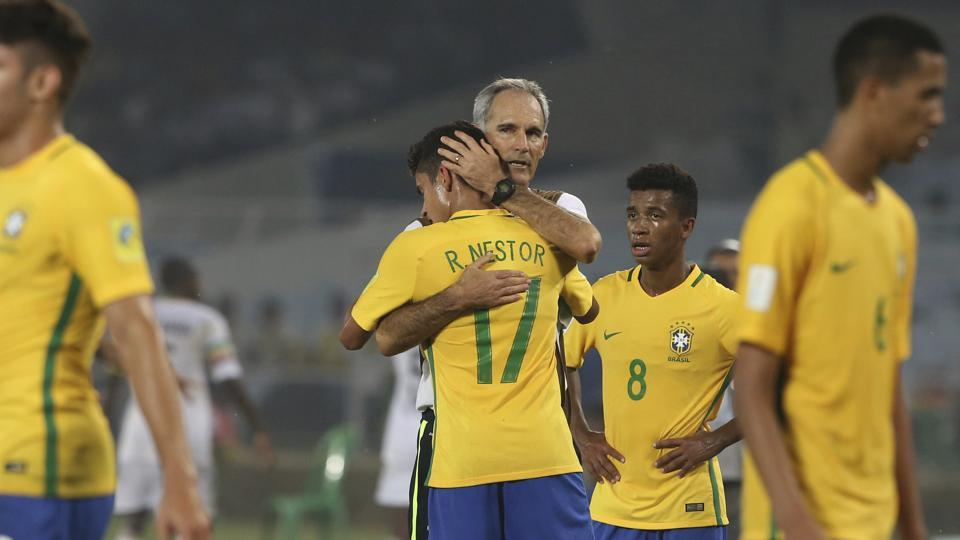 Image result for under 17 football world cup 2017 finals brazil - mali match images photos