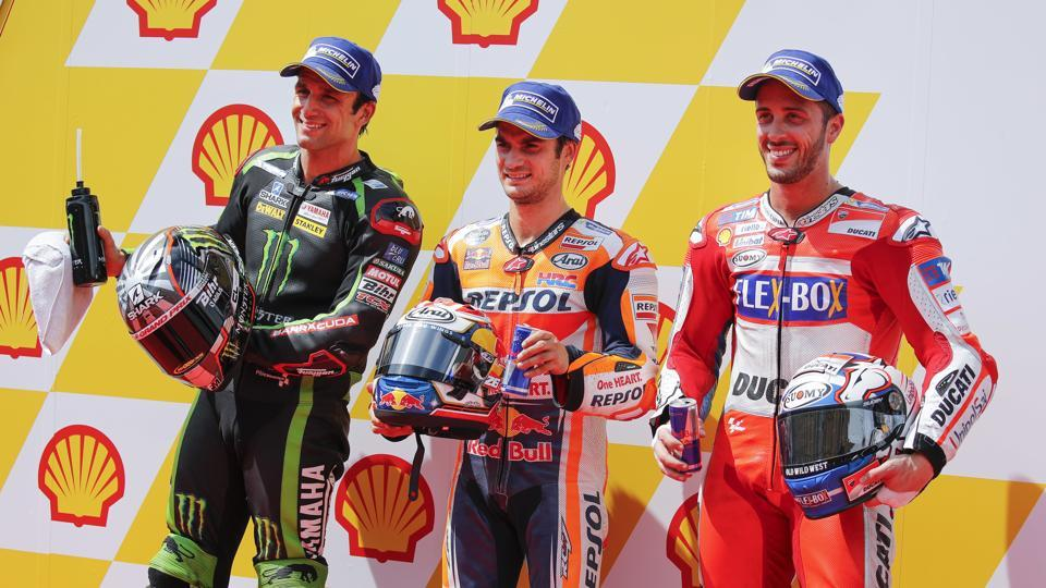 Pedrosa grabs pole in Malaysia MotoGP as Marquez crashes