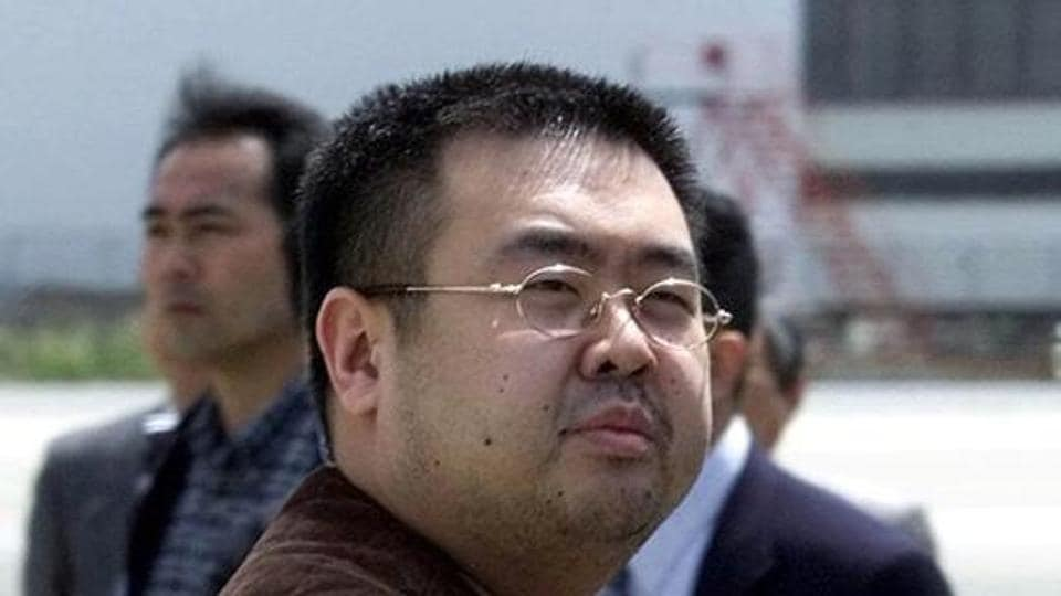 FILE - In this May 4, 2001, file photo, a man believed to be Kim Jong Nam, the eldest son of then North Korean leader Kim Jong Il.