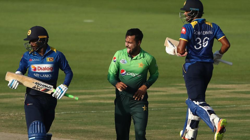 Faheem Ashraf became the first Pakistan bowler and sixth overall to take a hat-trick in Twenty20 Internationals as Sarfraz Ahmed's side took an unassailable 2-0 lead in the series against Sri Lanka.