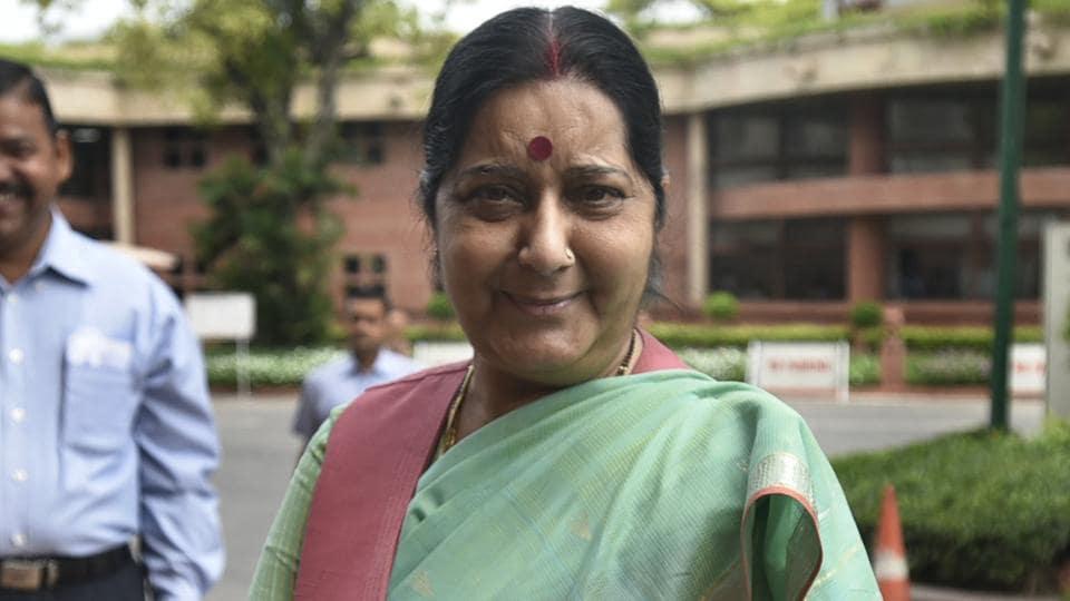 Sushma Swaraj,Indian embassy Malaysia,External affairs minister