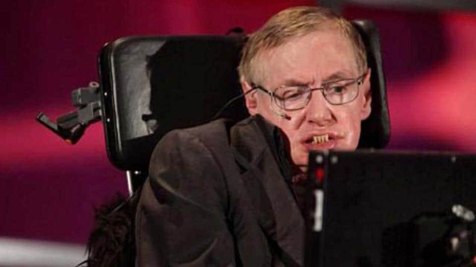 British scientist and theoretical physicist Stephen Hawking.