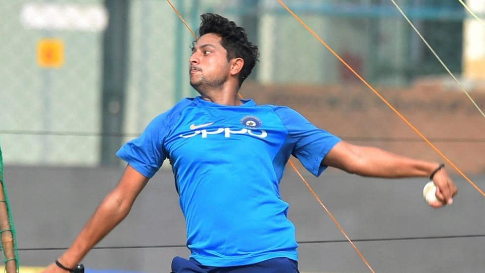 Chinaman Kuldeep Yadav, who was smacked for 64 in 10 overs in the first ODI, is unlikely to make a comeback in the side for the third game on his home turf as Kohli would like to go with an unchanged playing XI.  (PTI)