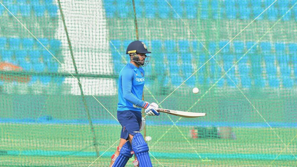 Manish Pandey, who didn't feature in the first two ODIs, could play ahead of Kedar Jadhav in Kanpur.  (PTI)