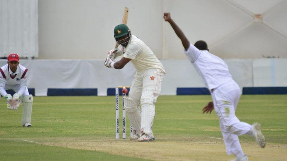 Hamilton Masakadza scored his fifth Test century as Zimbabwe ended Day 1 of the second Test on 169-4.
