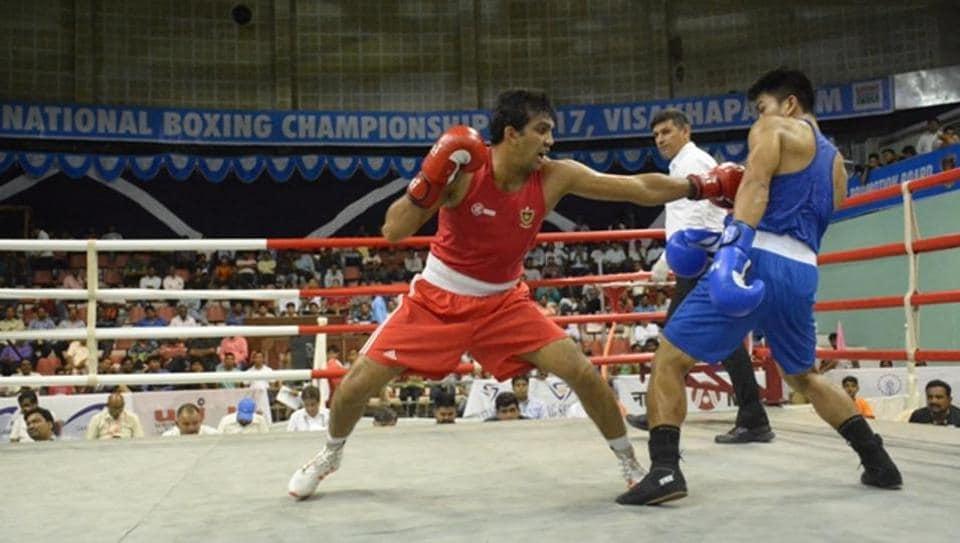 Shiva Thapa,Manoj Kumar,National Boxing Championships