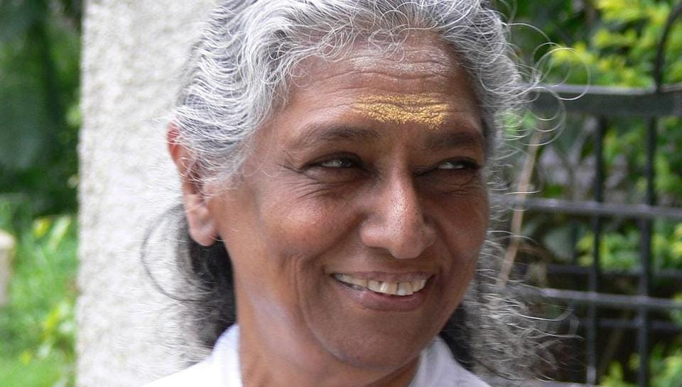 S Janaki, four-time National Award-winning singer retired after a public concert.