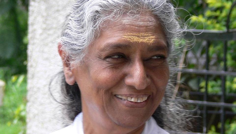 S Janaki, four-time National Award-winning singer retired after a public concert.