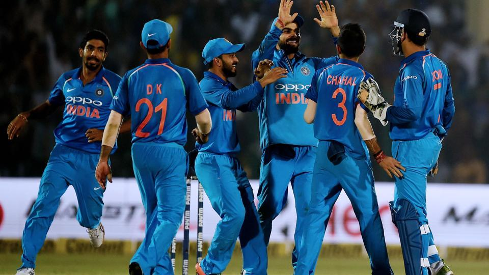 India beat New Zealand by six runs in the 3rd and final ODI in Kanpur on Sunday to clinch the series 2-1. Catch full cricket score of India vs New Zealand, 3rd ODI from Kanpur here.