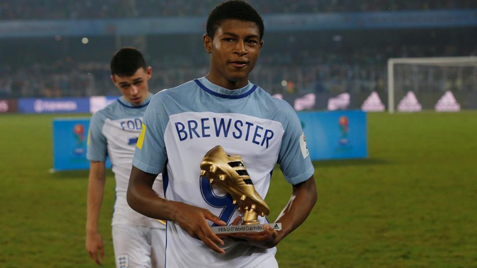 FIFAU-17 World Cup,Rhian Brewster,Abel Ruiz