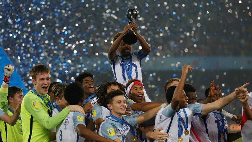 FIFA U-17 World Cup,England football team,Rhian Brewster