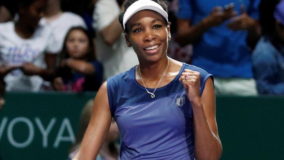 Venus Williams has entered the final of the season-ending WTA Finals in Singapore where she will take on Caroline Wozniacki for the title.