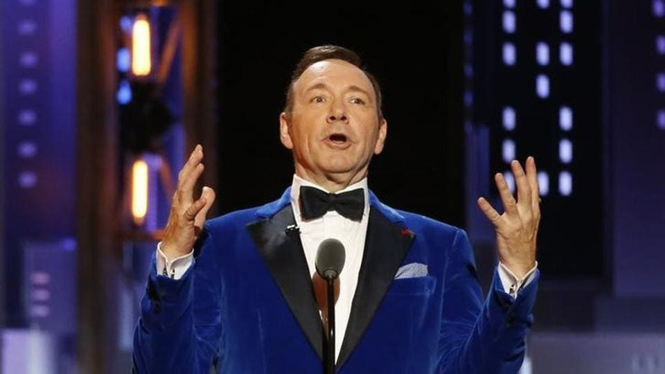 Kevin Spacey in a file picture from 71st Tony Awards.