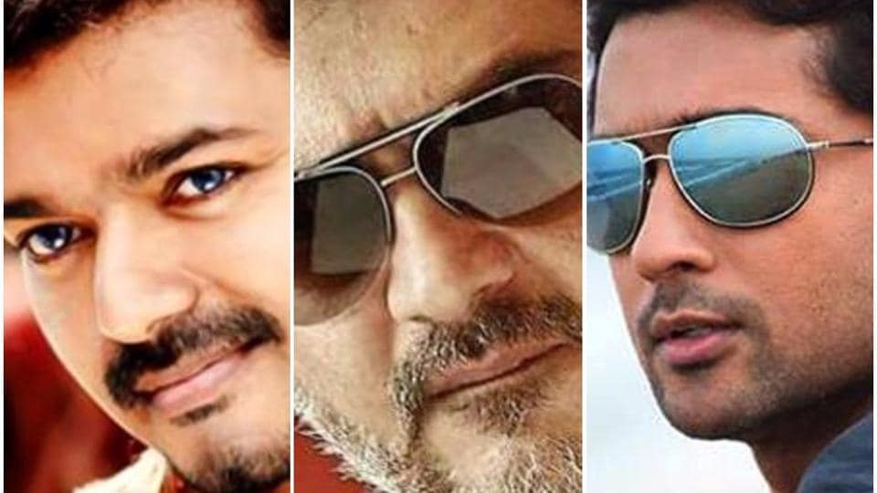 Vijay's film with AR Murugadoss, Ajith's movie with Siva and Suriya's next with director Selvaraghavan will all release around Diwali 2018.