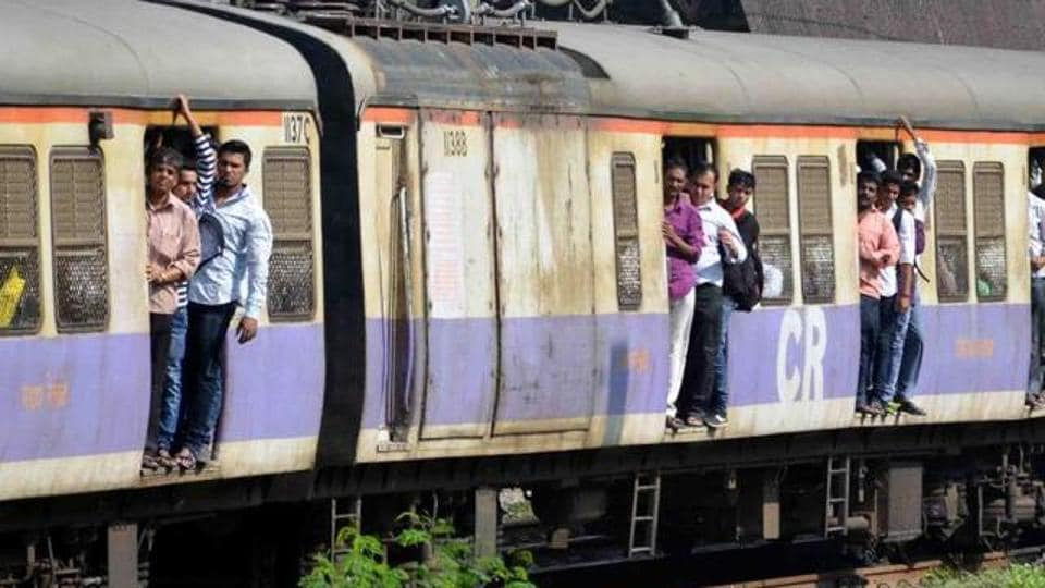Mumbai's harbour line trains were running 30 minutes late on Monday morning.