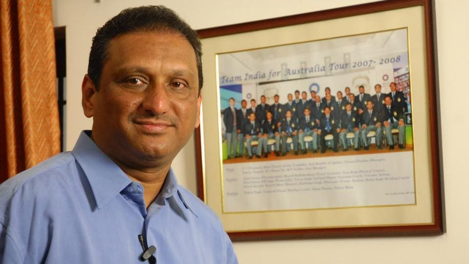 MV Sridhar,Board of Control for Cricket in India,BCCI
