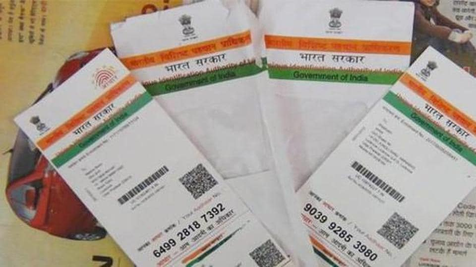 Meghalaya is ranked 35th (ahead of Assam) in the list of 36 states and union territories in terms of Aadhar enrollment.