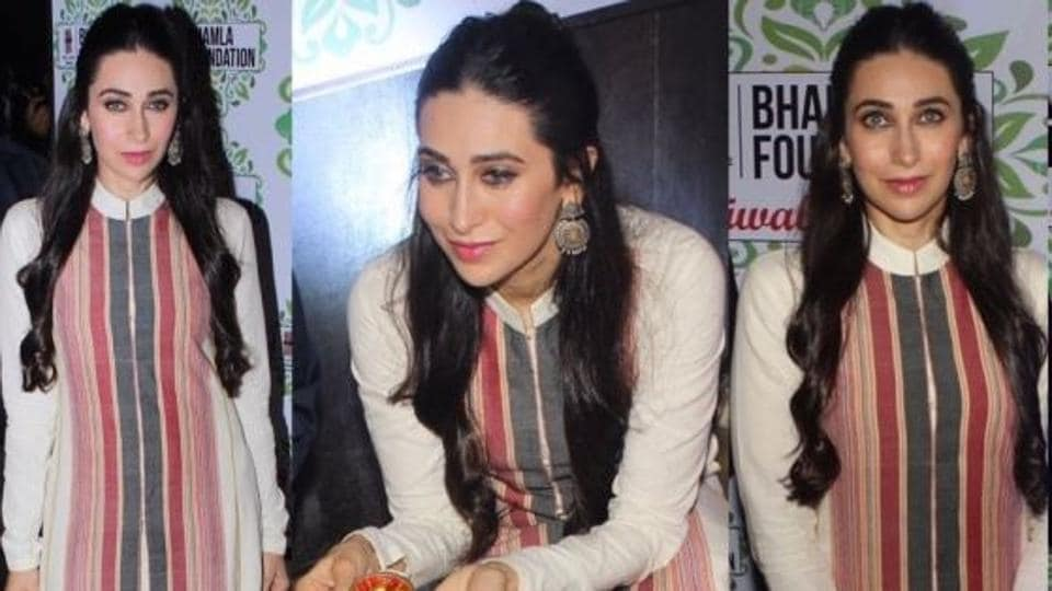 Karisma Kapoor's Instagram is rife with pearly hits and she's pretty much nailed white outfits every time.
