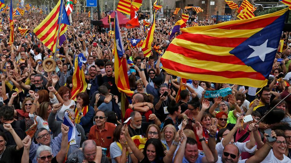 Catalan independence issue,Europe,Raveesh Kumar