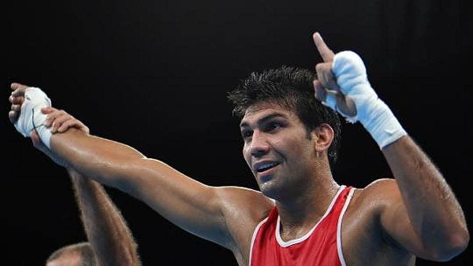 Manoj Kumar,National Boxing Championship,Shiva Thapa