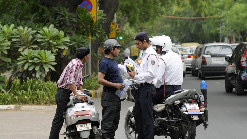 Delhi,Delhi traffic police,Delhi traffic police officers