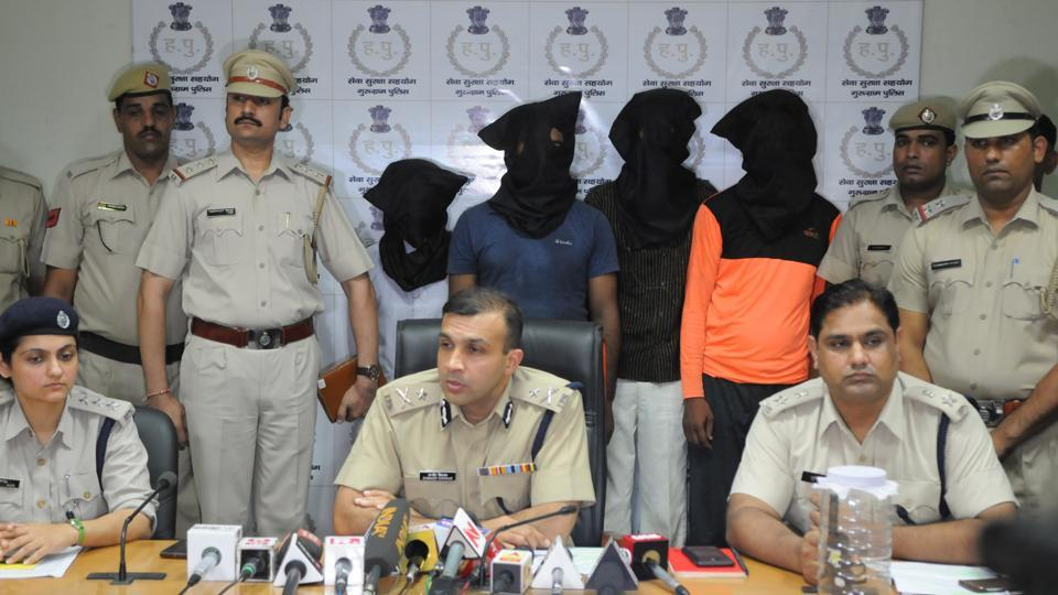 Apart from Dingarheri, the four have been taken to at least 10 crime spots in Gurgaon, Mewat and Jhajjar districts.