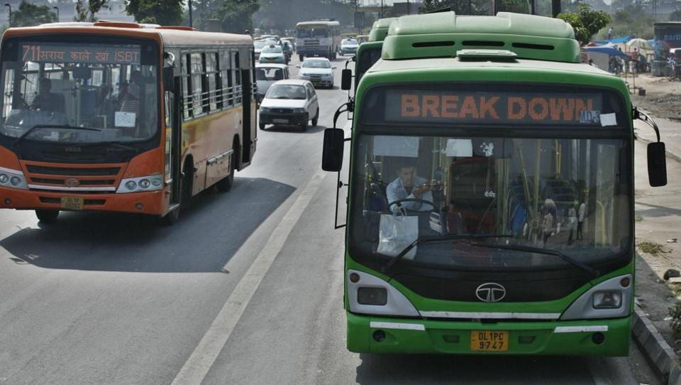 Delhi Transport Corporation has just 3,951 buses, which carry 8 lakh passengers every day.