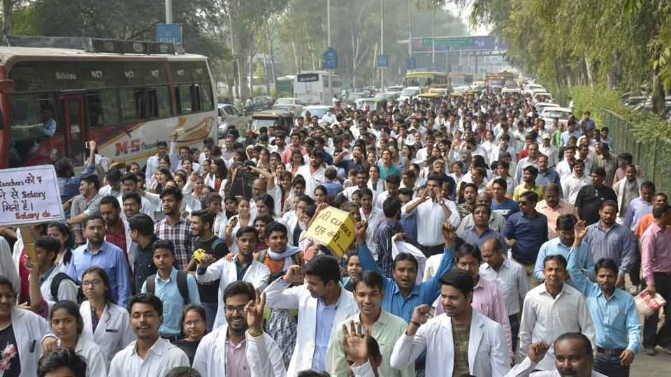 doctors' strike,ghaziabad,ghaziabad doctors