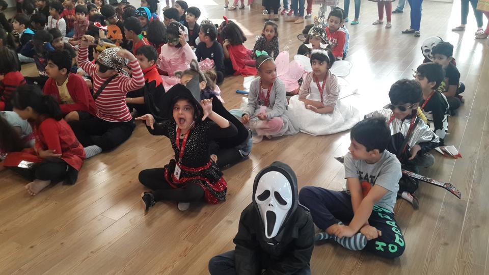 Several schools in Gurgaon have been holding events in the run-up to Halloween.