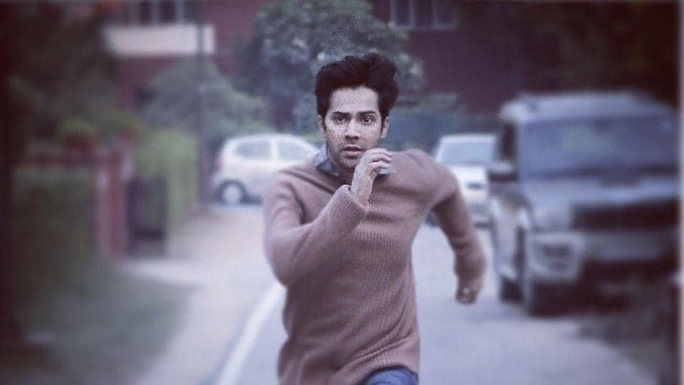 October first look,Varun Dhawan,October