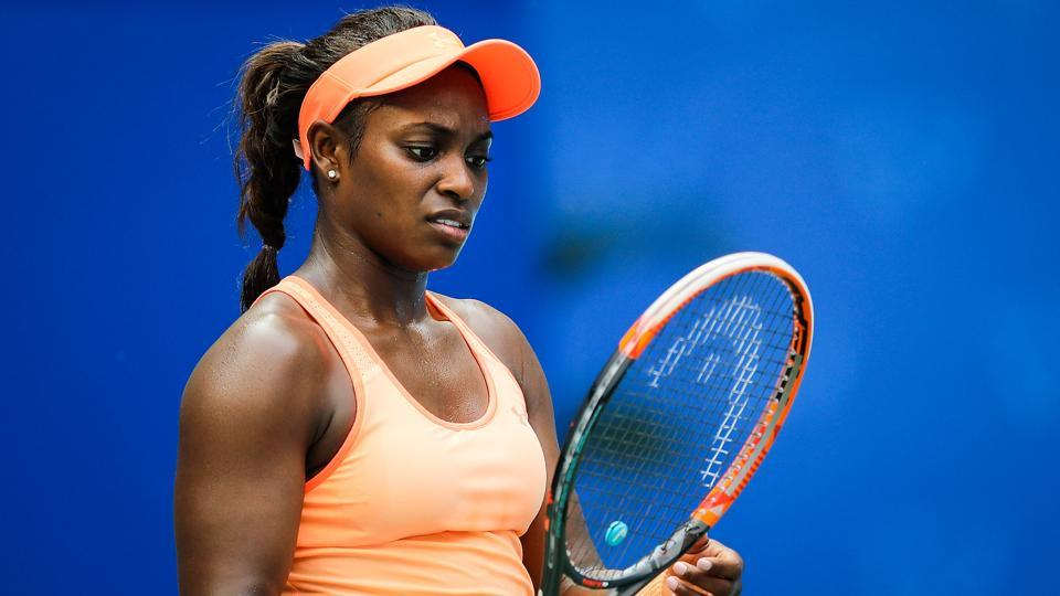 Sloane Stephens has yet to win a match since her shocking US Open victory earlier this year.