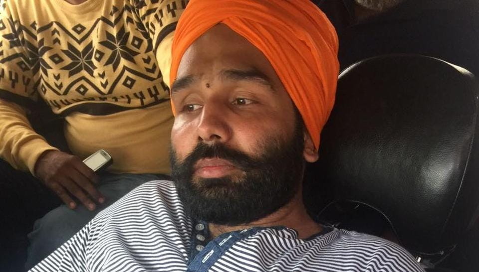 Amarjot Singh, son of ex-akali MLA Gurbachan Singh Babbehali