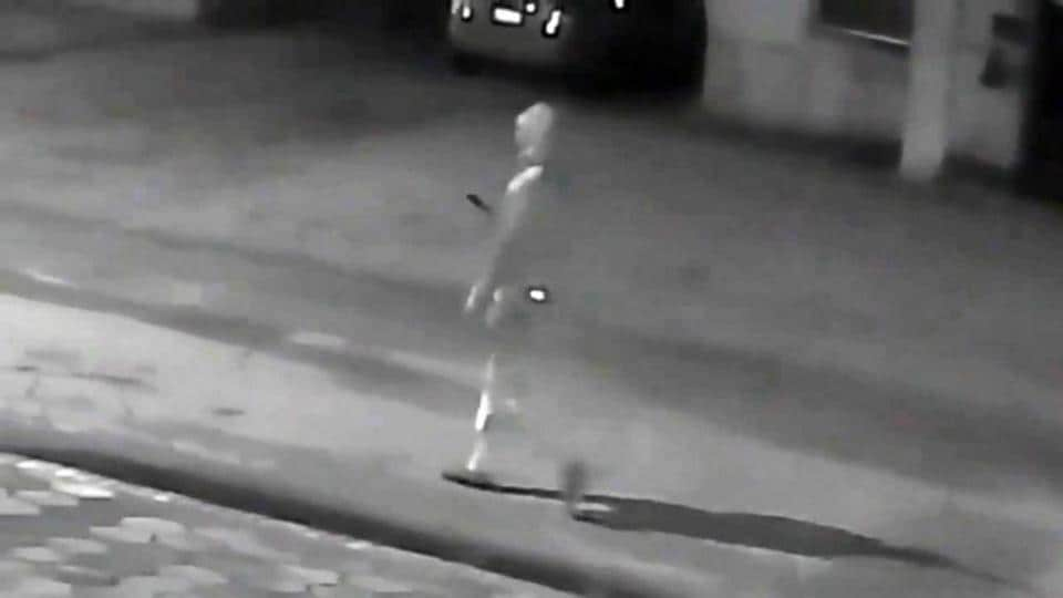 A screengrab from the video released by Tampa police.