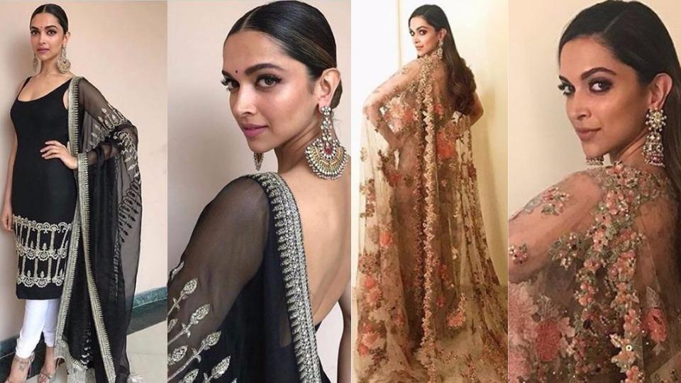 We could hardly believe our eyes when we recently spotted Deepika Padukone at an awards red carpet, and in another knockout monochrome outfit.